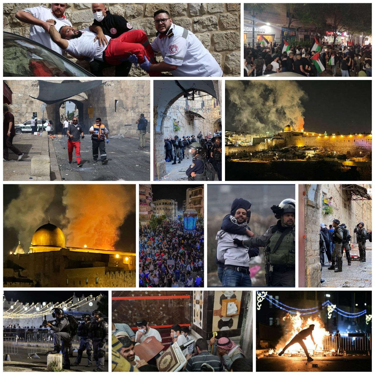 الصحة: 21 شهيدا و788 إصابة حصيلة اعتداءات الاحتلال في الضفة وقطاع غزة